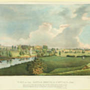View Of The Battle Ground At Concord Mass Poster