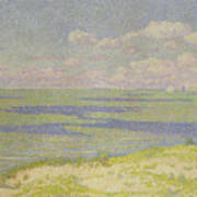 View Of The River Scheldt Poster