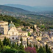 View Over Assisi Poster