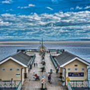 View Over The Pier Poster