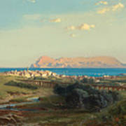 Views Of Algeciras On The Rock Of Gibraltar Poster
