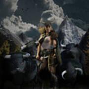 Viking Gefjon Poster