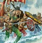 Vikings Poster by Pete Jackson