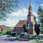 Village Church  Poster