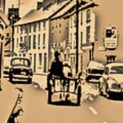 Village Scene Ireland Poster