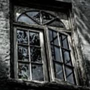 Village Window Poster