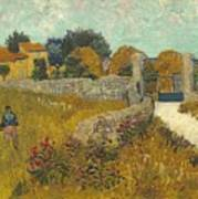 Vincent Van Gogh, Farmhouse In Provence Poster