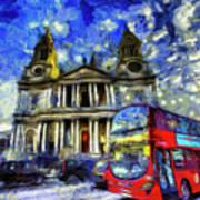 Vincent Van Gogh London Poster
