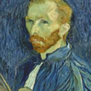 Vincent Van Gogh Self-portrait 1889 Poster