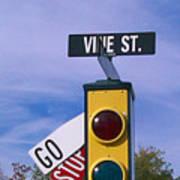 Vine St Poster