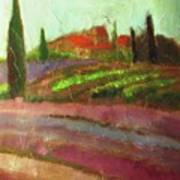 Tuscany Vineyard Poster
