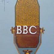 Vintage Bbc Mic Poster