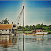 Vintage Boats Poster