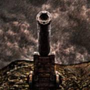 Vintage Cannon Poster