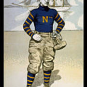Vintage College Football Annapolis Poster