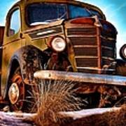 Vintage Farm Truck Poster