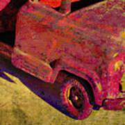 Vintage Firetruck Poster
