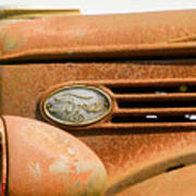 Vintage Ford Truck Poster