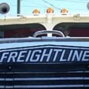 Vintage Freightliner  Poster