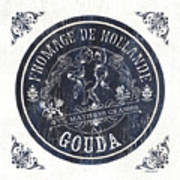 Vintage French Cheese Label 1 Poster