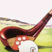 Vintage Golf Art - Circa 1920's Poster