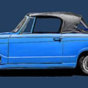Vintage Italian Automobile Tee Poster