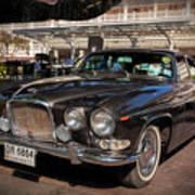 Vintage Jaguar Poster