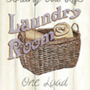 Vintage Laundry Room 2 Poster