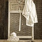 Vintage Laundry Room Poster by Edward Fielding