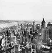 Vintage Lower Manhattan Skyscraper Photo - 1913 Poster