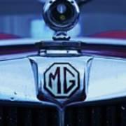 Vintage M G Emblem Poster
