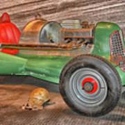 Vintage Midget Racer Poster
