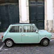 Vintage Mini Minor Poster