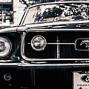 Vintage Mustang Poster