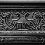 Vintage National Cash Register Poster