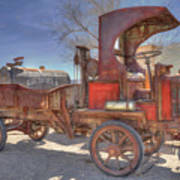 Vintage Packard Truck Poster