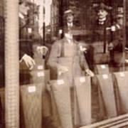 Vintage Paris Men's Fashion Poster