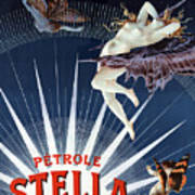 Vintage Petrole Stella Poster Poster