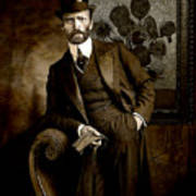 Vintage Photograph Of Vincent Van Gogh - Taken 13 Years After His Death Poster