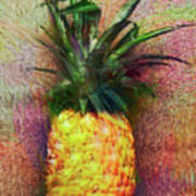 Vintage Pineapple Poster