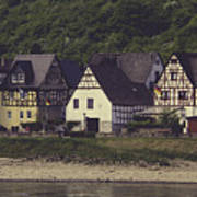 Vintage Postcard Look Of Spay Germany Poster