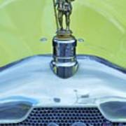 Collectible Vintage Rover Hood Ornament Poster