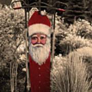 Vintage Santa Poster