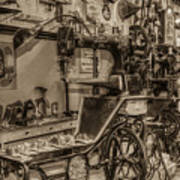 Vintage Sewing Poster