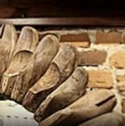 Vintage Shoe Forms Poster