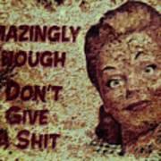 Vintage Sign 2e Poster