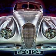 Vintage Speedster Poster