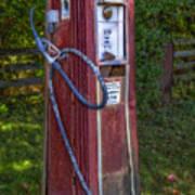 Vintage Tokheim Gas Pump Poster