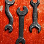 Vintage Tools Poster