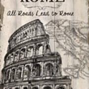 Vintage Travel Poster Poster